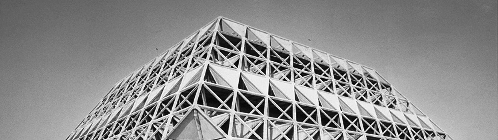 Modernit indienne l 39 architecture de raj rewal artfifa for Architecture indienne