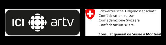 ICI ARTV + Consulat général de suisse