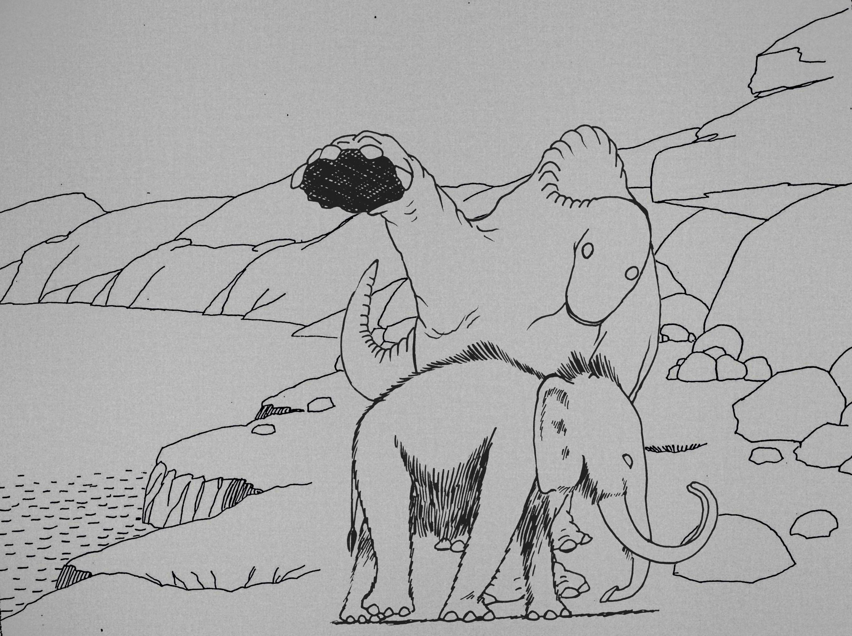 Exhibition - Reconstruction of Gertie The Dinosaur